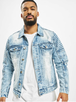 Southpole Denim Jacket Biker Trucker blue