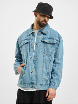 Southpole Denim Jacket Script  blue