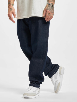 Southpole Dżinsy straight fit Embroidery indygo