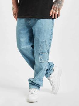 Southpole Dżinsy straight fit Straight Fit niebieski
