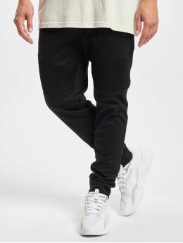 Southpole Jogging Color Block Tech Fleece noir