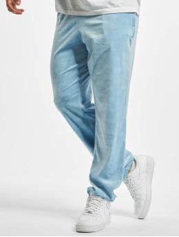 Southpole Jogginghose Aop Velour blau