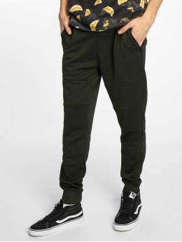 Southpole Jogginghose Marled Tech Fleece Pants olive