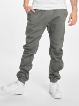 Southpole Látkové kalhoty Stretch Jogger šedá
