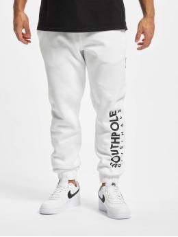 Southpole Pantalone ginnico Basic bianco