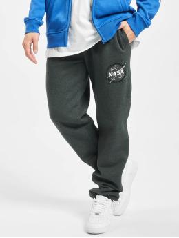 Southpole Pantalone ginnico Nasa Insignia Logo grigio