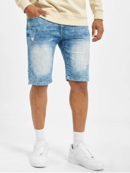 Southpole Short Basic Denim bleu
