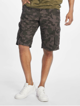 Southpole Shorts Belted grau