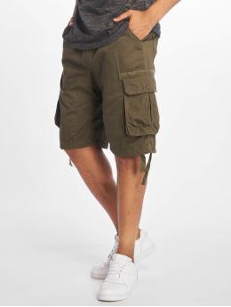 Southpole Shorts Jogger Cargo Fine Twill olive