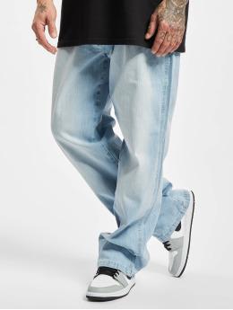 Southpole Slim Fit Jeans Cross Hatch Basic  blauw