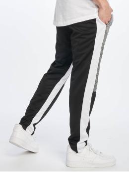 Southpole Spodnie do joggingu Color Block Marled czarny