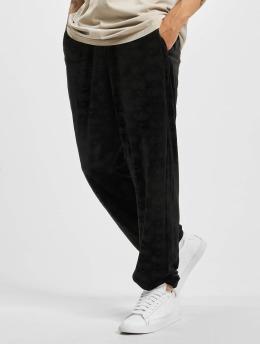 Southpole Spodnie do joggingu Aop Velour czarny