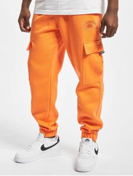 Southpole Spodnie do joggingu Cargo  pomaranczowy