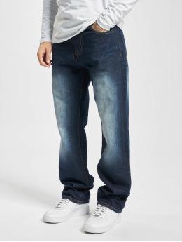 Southpole Straight Fit Jeans Streaky Basic Denim Regular blå