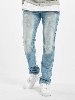 Southpole Straight Fit Jeans Stretch Basic blau
