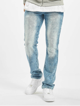 Southpole Straight fit jeans Stretch Basic blauw