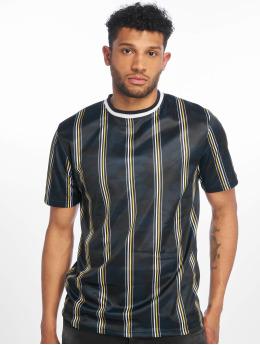 Southpole T-Shirt Thin Vertical Stripes bleu