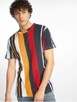 Southpole T-shirt Vertical Stripe Print  blu