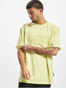 Southpole T-Shirt 3D Logo jaune