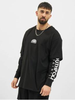 Southpole T-Shirt manches longues Basic Double Sleeve noir