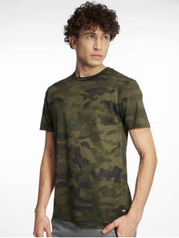 Southpole T-shirt Camo & Splatter Print mimetico