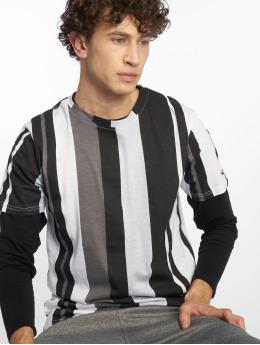 Southpole T-shirt Vertical Stripe nero