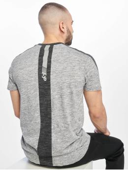 Southpole T-Shirty Shoulder Panel Tech szary