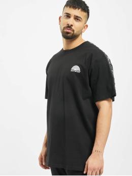 Southpole T-skjorter Logo Tape svart