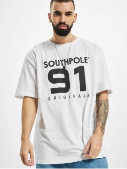 Southpole Tričká 91 biela
