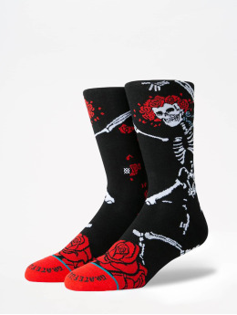 Stance Calcetines Anthem Dead Head negro