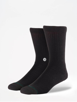Stance Calcetines Uncommon Solids Icon 3 Pack negro
