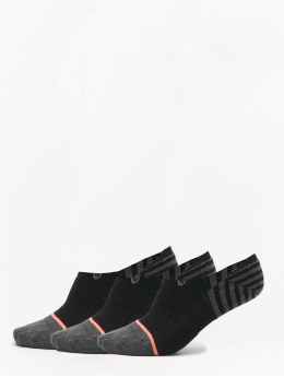 Stance Calcetines Uncommon Solids Sensible 3 Pack negro