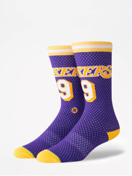 Stance Calcetines NBA On Court Collection Lakers 94 HWC púrpura