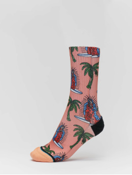 Stance Calcetines Surfin Guadalupe rosa