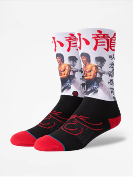 Stance Chaussettes Bruce Lee  blanc