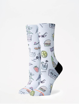 Stance Chaussettes Foundation Shopping List blanc
