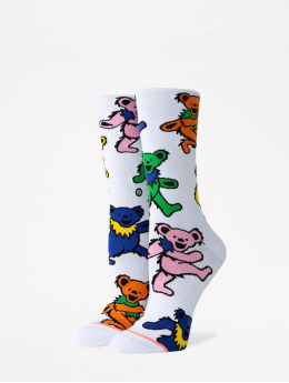 Stance Chaussettes Foundation Bears Choice blanc