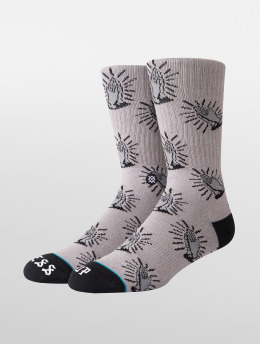 Stance Chaussettes Bless Up gris