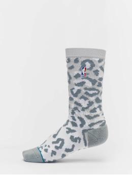 Stance Chaussettes NBA On Court Collection Logoman gris