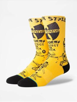 Stance Chaussettes Protect Ya Neck jaune