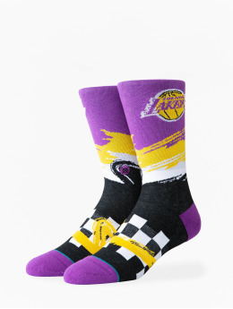 Stance Chaussettes Lakers Wave Racer pourpre