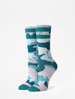 Stance Chaussettes Foundation Frankly Crew turquoise