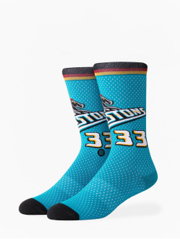 Stance Socken NBA On Court Collection Pistons 96 HWC blau
