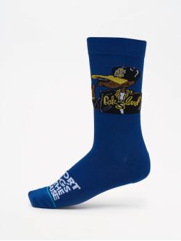 Stance Socken Short Dog blau