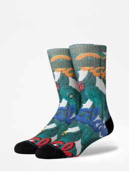 Stance Socken Foundation Aloha grün