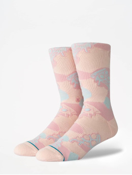 Stance Socken Lifestyle Pizza Party pink