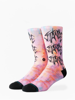 Stance Socken Washed Up pink
