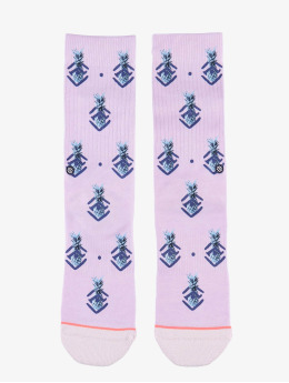 Stance Socken Polka Pineapple violet