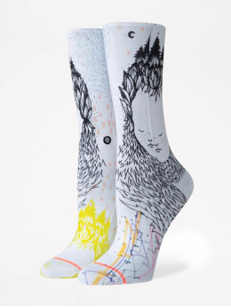 Stance Socken Foundation Whimsical weiß