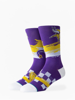 Stance Socks Vikings Wave Racer purple
